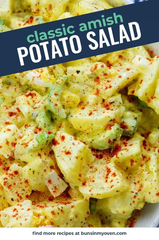 The Best Amish Potato Salad Recipe Buns In My Oven
