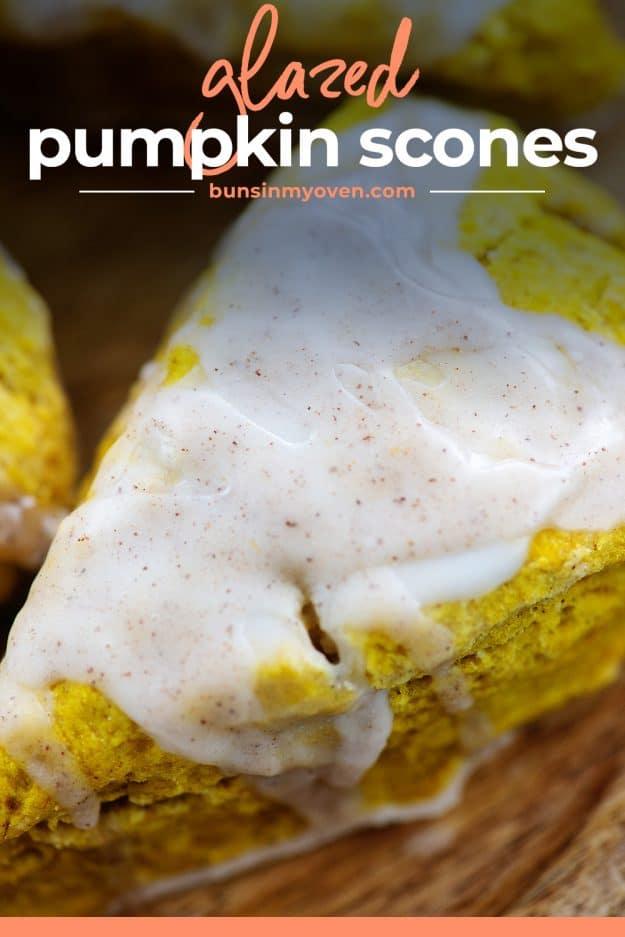glazed scone