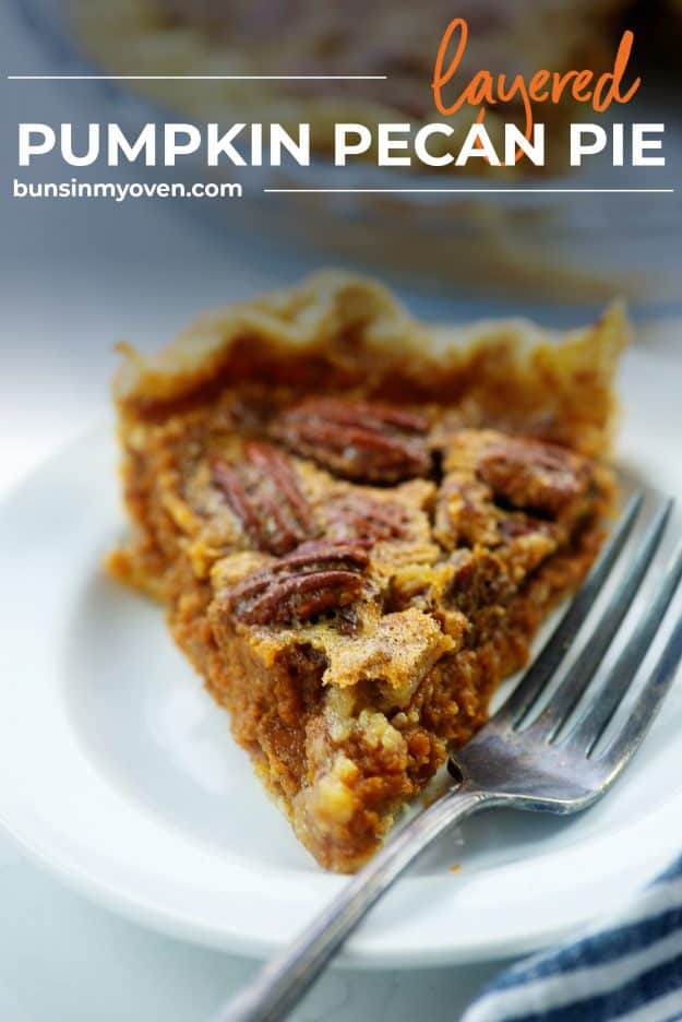 slice of pie on white plate