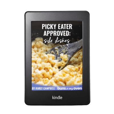 ebook cover for Side Dishes ebook.