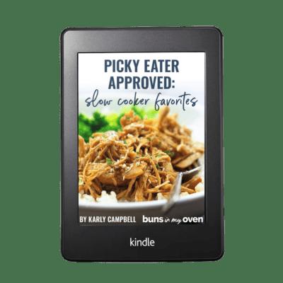 slow cooker favorites ebook cover.