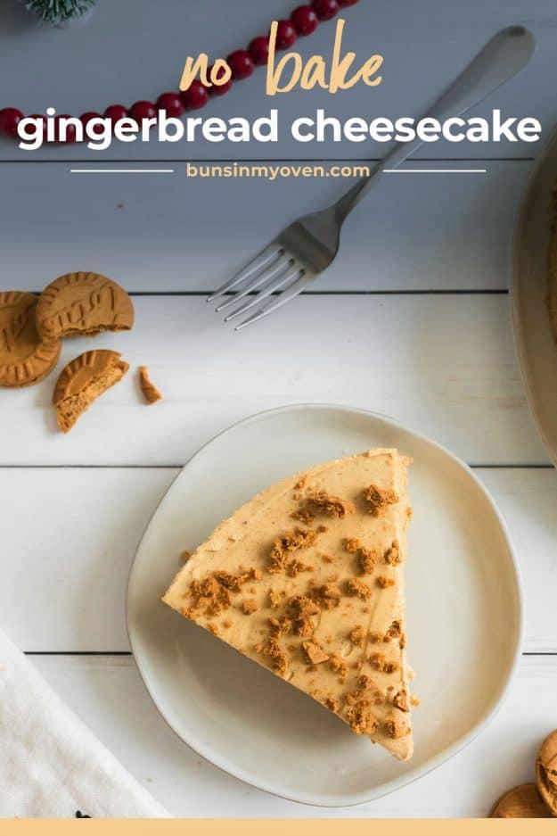 no bake holiday cheesecake recipe.