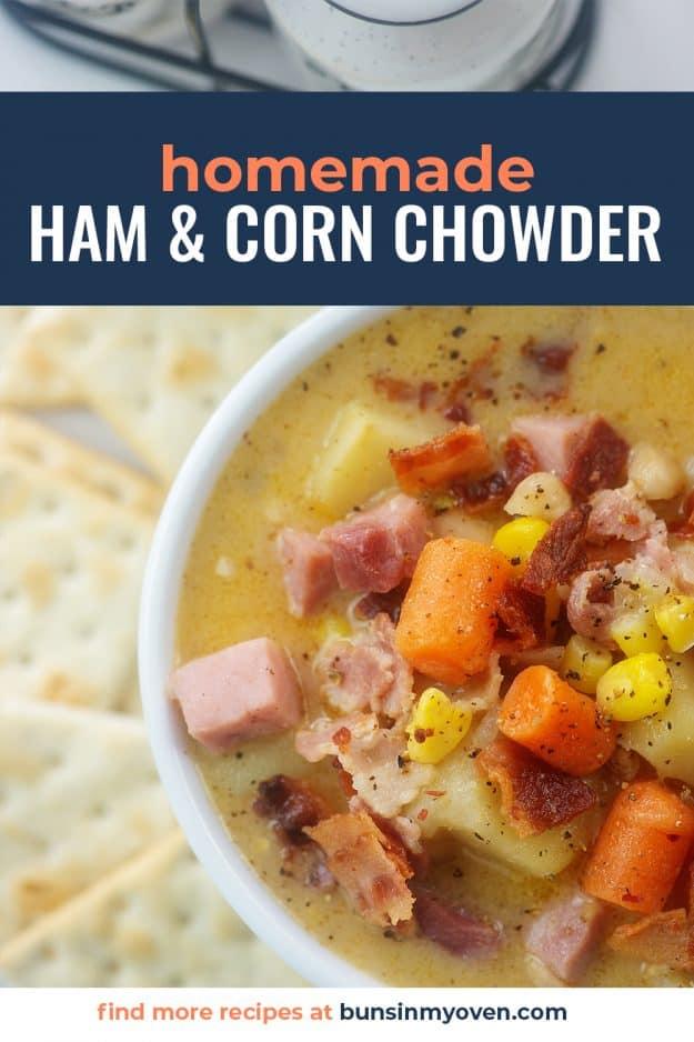 ham and corn chowder recipe.