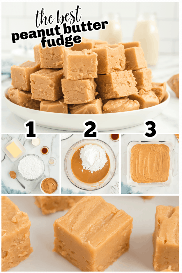 how to collage for peanut butter fudge
