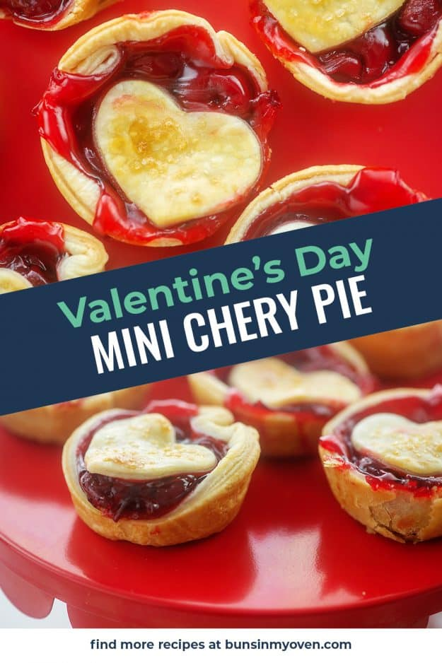 collage of cherry pie images.
