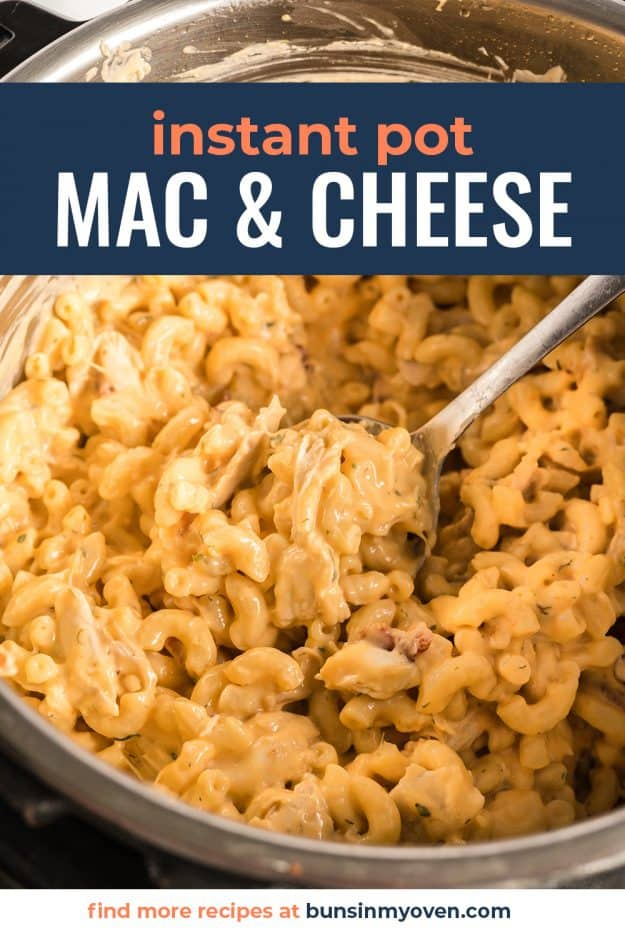 macaroni and cheese in pressure cooker.