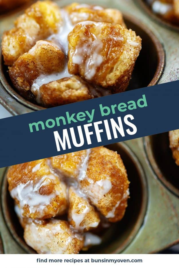 collage of monkey bread images.