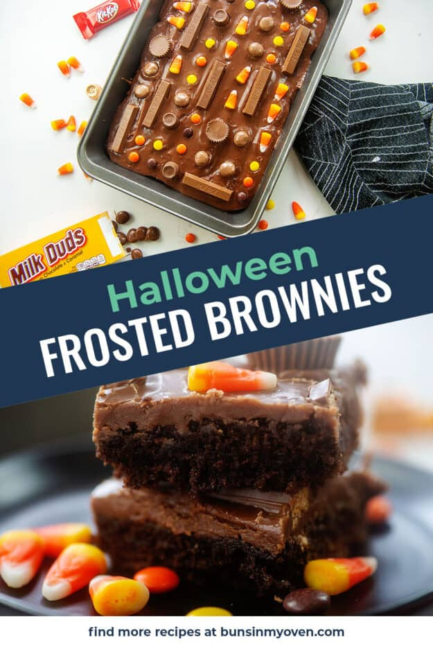 collage of brownie images.